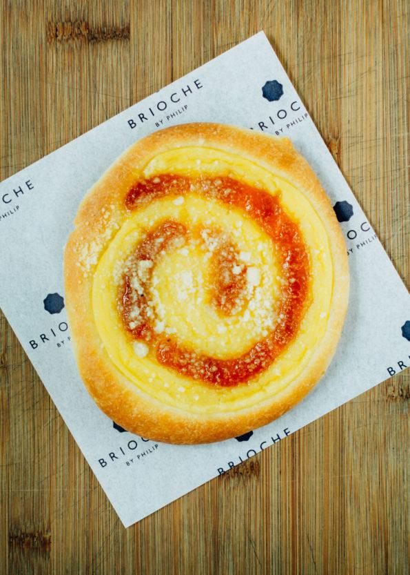 Apricot Brioche Wheel