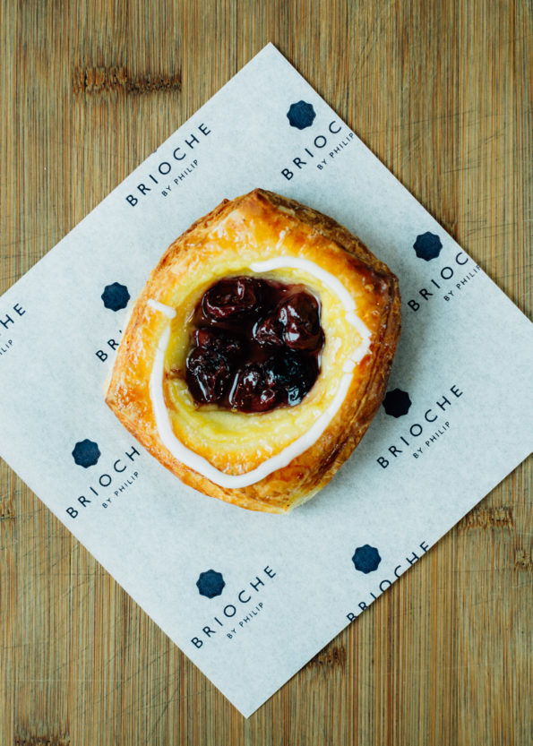 Sour Cherry Danish