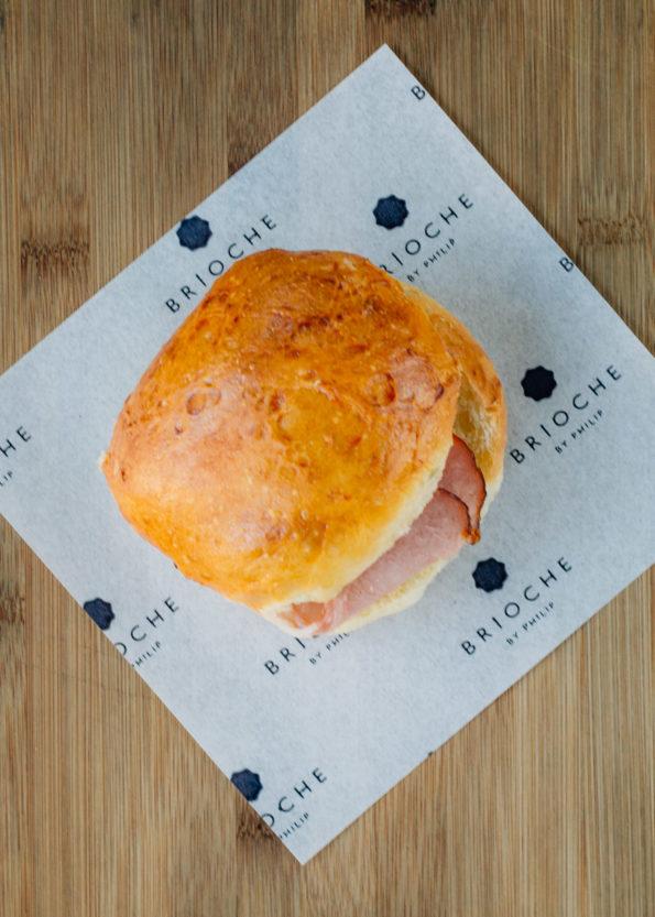 Bacon & Egg Brioche Burger