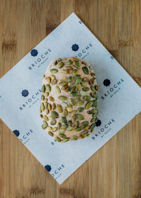Pumpkin Seed Walnut Roll